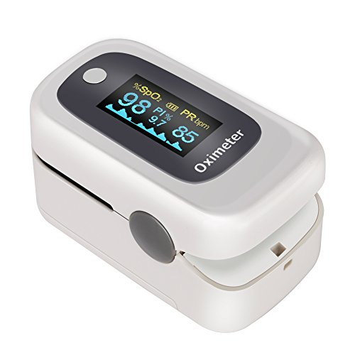 GHB Pulsímetro Oxímetro de Pulso y Monitor