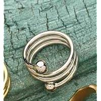 Berg Spiral Bronze versilbert, Ring, 2 Magnete mit 800 Gauss preisvergleich bei billige-tabletten.eu