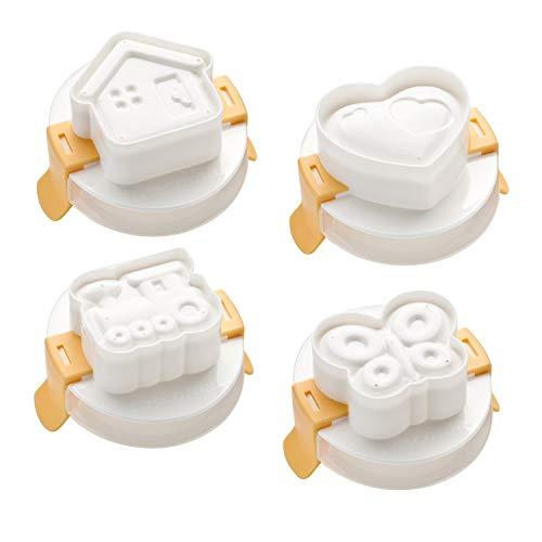 Tescoma 420658 Formine per Uova, Bianco, 30 X 18 X 5.4 Cm