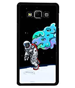printtech Astronaut Abstract Space Back Case Cover for Samsung Galaxy A7::Samsung Galaxy A7 A700F