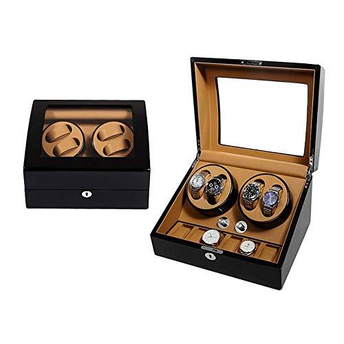 HYCy Uhrenbeweger, 5 Rotations Modus, AC Adapter, 4+6 Automatische Uhrenbox (Farbe : A105) - A105 Ac Adapter