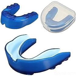 mark8shop Azul Protector Bucal Dientes Protector Bucal para Taekwondo de boxeo de baloncesto