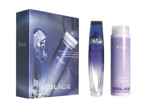 Police Wings Body Essentials for Women Gift Set with Eau de Toilette - 50 ml and Body Lotion 200 ml
