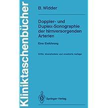 Doppler- und Duplex-Sonographie der hirnversorgenden Arterien: Eine Einführung (Kliniktaschenbücher) (German Edition)
