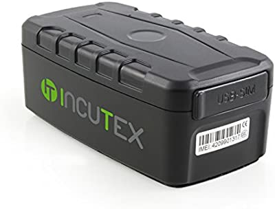 Incutex TK104 GPS Tracker for Person & Vehicle Geolocation