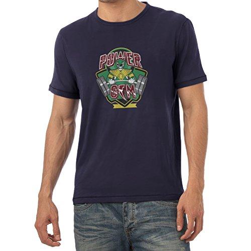 TEXLAB - Power Gym - Herren T-Shirt Navy