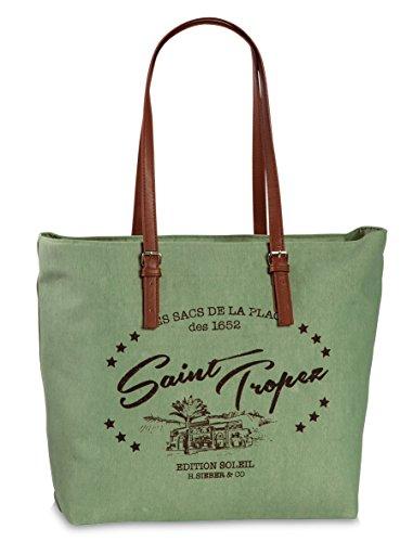 Fabrizio Shopper Shopper Borsa Da Spiaggia Saint Vacanza Borsa Borsa Verde