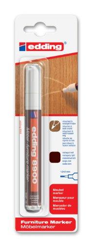 Edding e-8900-1-4612 - Marcador para retocar muebles, color caoba claro