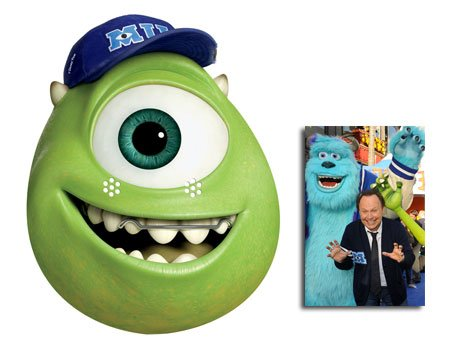 Mike Karte Partei Gesichtsmasken (Maske) (Monsters University) - Enthält 6X4 (15X10Cm) starfoto