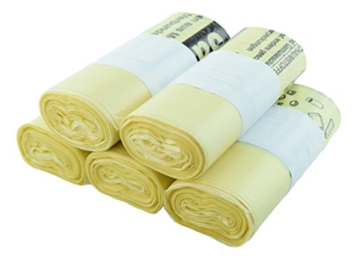 *Gelber Sack extra Reißfest 18 µm und 10cm länger (5)*