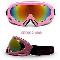 92d6dc11ee9165 Masque Ski Lunettes de Ski pour Enfant Ski Goggles Peut Porter des Lunettes  de La Myopie