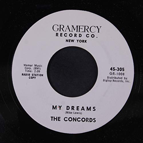 my dreams / scarlet ribbons 45 rpm single -