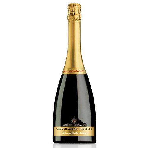Rive di colbertaldo valdobbiadene prosecco superiore docg brut - cantine maschio - vino bianco spumante 2017 - bottiglia 750 ml