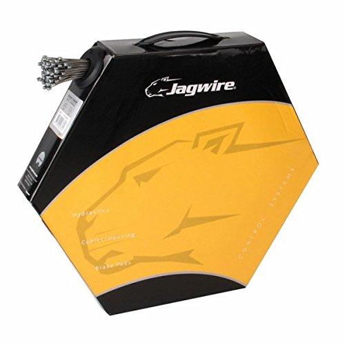 JAGWIRE   CABLE DE FRENO COMPATIBLE CON SRAM Y SHIMANO (ACERO INOXIDABLE  1 1 MM  2 3 M  100 UNIDADES)