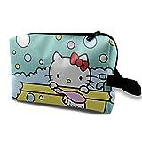 Hello Kitty - Trousse da viaggio per trucchi e articoli da toeletta, portatile