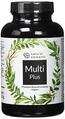 Multivitamin - Einführungspreis - Premium-Rohstoffe im umfangreichen Komplex - 180 Kapseln - Hochdosiert, vegan, laborgeprüft & hergestellt in Deutschland