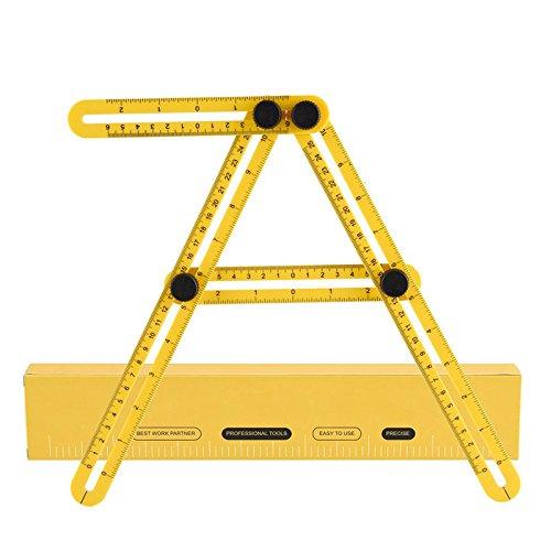 Tiptiper Angle Izer Template Tool Multi Angle Measuring Ruler Hp