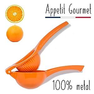 Orangenpresse Appetit Gourmet ® - manuelle Zitruspresse 2 in 1,...