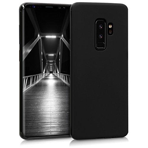 kwmobile Samsung Galaxy S9 Plus Hülle - Handyhülle für Samsung Galaxy S9 Plus - Handy Case in Schwarz matt