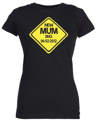 Spoilt Rotten - CUSTOM New Femme T-Shirt - cadeau original pour les maman, Noir, M