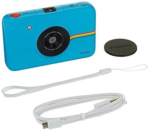 Polaroid Snap Instant Digital Camera (Blue) wih ZINK Zero Ink Printing Technology