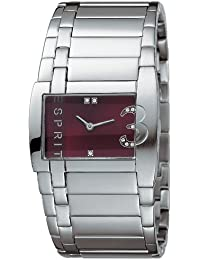 Esprit Damen-Armbanduhr Analog Quarz Edelstahl ES100282001