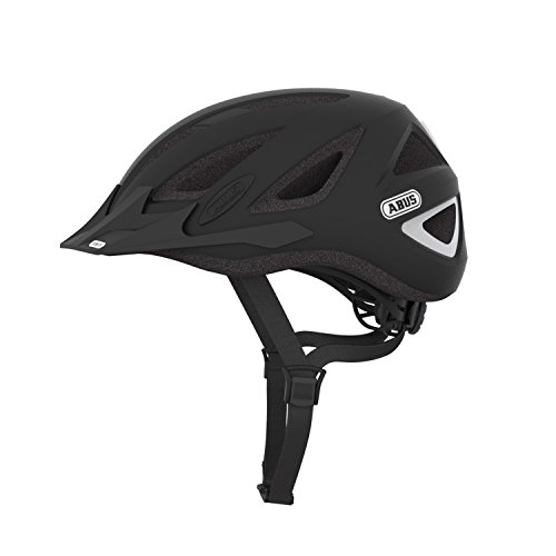 Abus 128998 - URBAN-I_v.2_Zoom_velvet_black_L Casco URBAN-I v.2 Zoom color velvet black talla L