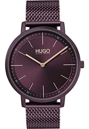 Hugo Damen-Uhren Analog Quarz One Size Edelstahl 87644821
