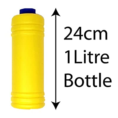 Giant 1 Litre Bottle of Bubble Solution Liquid with Wand Great Fun with Kids Ideal for Bubbles Machine Gun Blower or Large Top Up