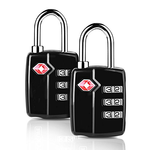 Enthusiastic 3xtsa Approve 3 Digit Combination Travel Suitcase Luggage Bag Lock Padlock Reset At Any Cost Access Control Equipment