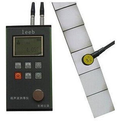 Rango de calibre Gowe espesor por ultrasonidos compatible: 0,7~350 mm resolución: 0,01 mm, revestimiento medidor de espesor, revestimiento medidor de espesor, grosor comprobador