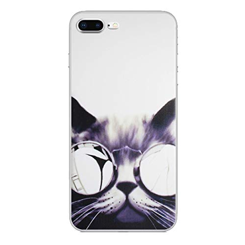 iPhone 8 Plus Lustige Tiere Silikonhülle/Gel Hülle für Apple iPhone 8 Plus (5.5