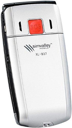 simvalley MOBILE Klapp-Notruf-Handy XL-937 mit Garantruf