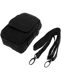 Black : Ruifu Outdoor Military Tactical Waist Pack Bag Hiking Camping Mobile Phone Pouch Purse Waterproof Wear...