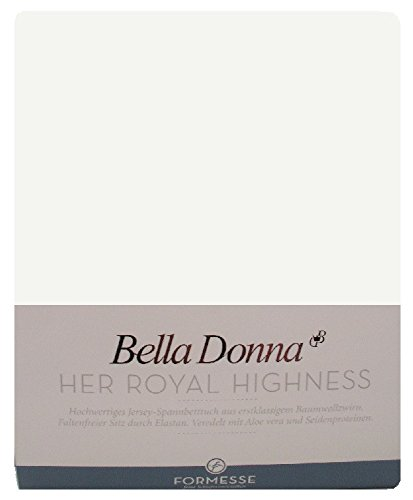 Bella Donna Jersey 140/200-160/220 Farbe 0114 - wollweiss