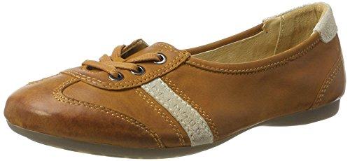 Belmondo Sneaker-Damen, chaussons d'intérieur femme - Marron (Cuir), 38 EU