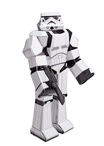 Preisvergleich Produktbild Jazwares 12914 - Blueprints Star Wars Papier Bastelset Stormtrooper, groß, 30 cm