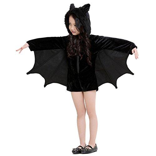 Kostüme Halloween-Schläger-Set für Kinder-Party-Kleid 135-150CM Mädchen Spiel (Mädchen Kostüme 2017 Teenager Halloween)