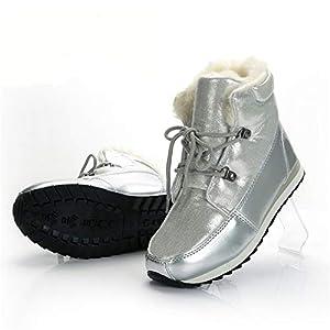 XPFXPFX Sport Freizeit Modetrend im Freien Wintermode Frauen Stiefel Knöchelhoch Warme Schneeschuhe Mädchen Stiefel Dicke Rutschfeste Laufsohle Hohe Qualität