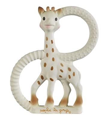 Sophie The Giraffe So Pure Teething Ring Soft Version (White)