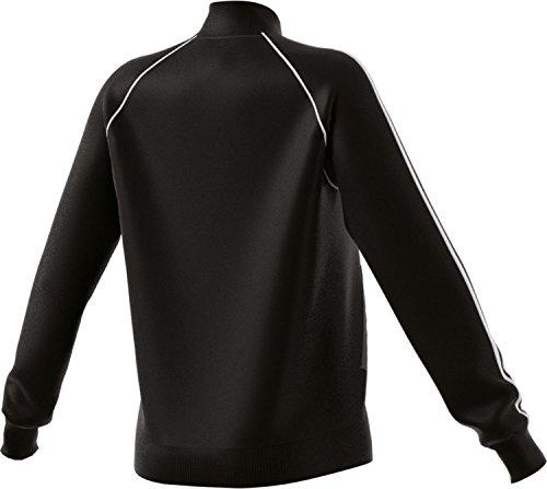 adidas Damen SST Originals Track Jacke, Black, 42