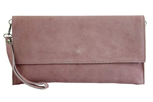 62a278158a741 AMBRA Moda WL811 - Bolsa de Cuero Mujer, color, talla One size