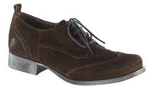XYXYX  Schnürer, Chaussures de ville à lacets pour femme Marron - Marron foncé