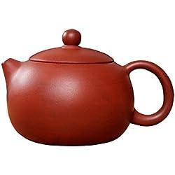 ufengke® Chinesisch Yixing Handgemachtes Zisha Lila Lehm Teekanne-Xishi