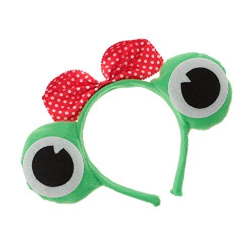 Gazechimp Tier Cosplay Frosch Augen Stirnband - Frosch Prinzessin, 11 (Outfits Frosch Prinzessin Und Der)
