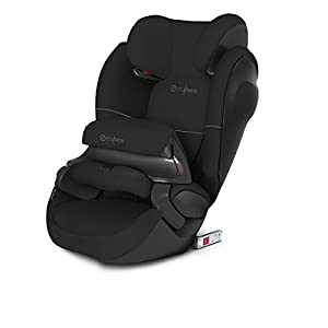 CYBEX Silver Pallas M-Fix SL 2-in-1 Child's Car Seat, For Cars with and without ISOFIX, Group 1/2/3 (9-36 kg), From approx. 9 Months to approx. 12 Years, Pure Black Cosatto Suitable from birth to max weight of 25kg, lets your toddler use it for even longer Custom-crafted to fit your pushchair ideally Make a Change with our changing bag 9