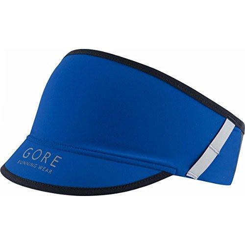 Gore Running Wear, Visiera Corsa Uomo, Traspirante e soffice, Gore Selected Fabrics, Fusion, Taglia Unica, Blu, HULTRA600002