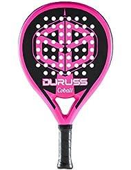 Duruss Cobalt - Pala de pádel para Mujer, Color Rosa Fluor