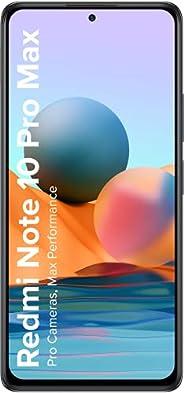 Redmi Note 10 Pro Max (Dark Night, 6GB RAM, 128GB Storage) -108MP Quad Camera | 120Hz Super Amoled Display | N