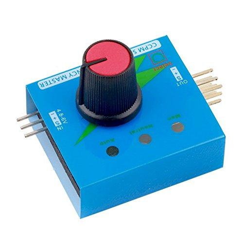 Water & Wood Multi Servo Tester 3CH ECS Consistency Speed Controler Power Channels CCPM Meter